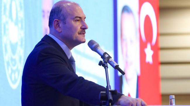 """İçişleri Bakanı Süleyman Soylu, """"Milletimize doğru bilgi vermek görevimiz"""""""