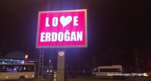 Gaziosmanpaşa Belediyesi, 'Love Erdoğan'