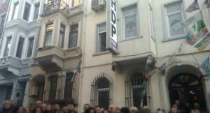 HDP İstanbul il binasında 'PKK sığınağı!'