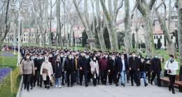 """İl Başkanı Kabaktepe, """"Gençler, içinizdeki kahramanı ortaya çıkarın"""""""