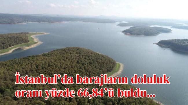 İstanbul barajlarında durum iyi