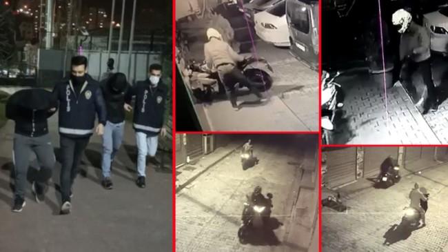 """İstanbul'da """"Çift Teker"""" çetesi çökertildi"""
