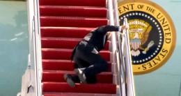 Joe Biden'in merdivenle imtihanı