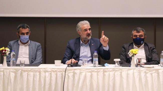 """Kabaktepe, """"İstanbul'u yeniden eser ve hizmet belediyeciliğiyle buluşturacağız"""""""