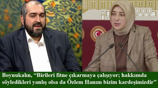 Mehmet Boynukalın hoca, Odatv'nin fitne çabasını boşa çıkardı