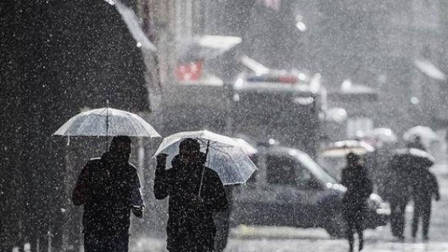 Meteoroloji'den İstanbullulara kuvvetli yağış uyarısı