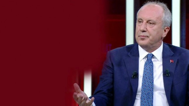"""Muharrem İnce, """"HDP aday çıkarsaydı yerel seçimleri alabiliyor muyduk?"""""""