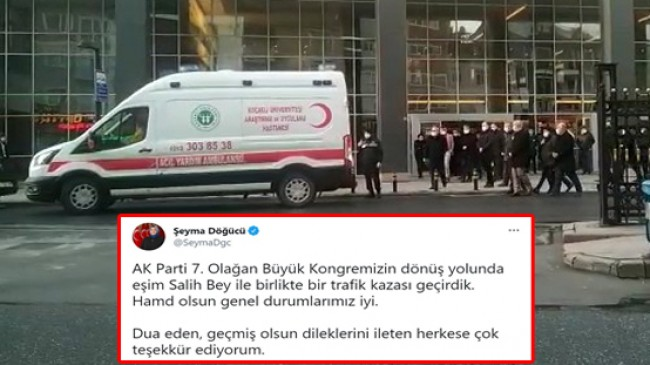Sancaktepe Belediye Başkanı Şeyma Döğücü sağlığı ile ilgili açıklama yaptı