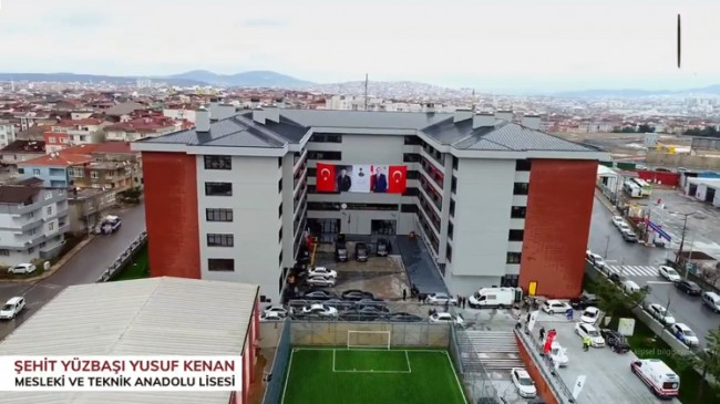 Sancaktepe'de Şehit Yüzbaşı Yusuf Kenan'ın adı verilen okulun açılışı yapıldı