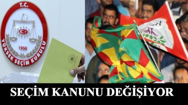 Siyasi Partiler Yasasının 102. Maddesi, terör ilintili HDP'den dolayı değiştiriliyor