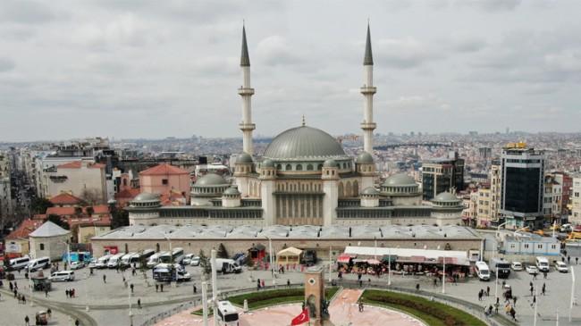 Taksim Camii'nin Ramazan Ayı'nda açılması planlanıyor