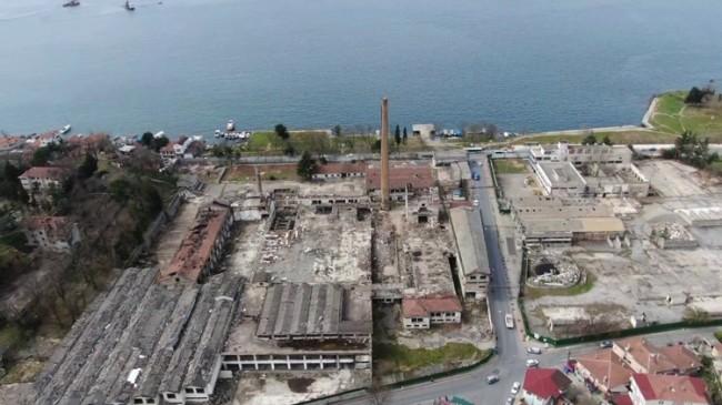 Tarihi Paşabahçe Şişe Cam Fabrikası'nın yerine otel yapılıyor