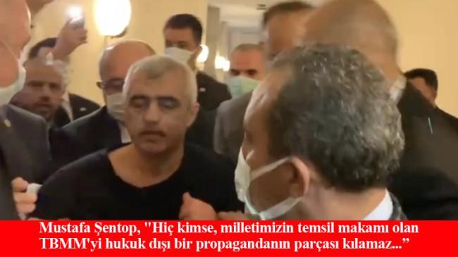 TBMM'de kendince eylem yapan FETÖ'cu Gergerlioğlu, gözaltına alındı