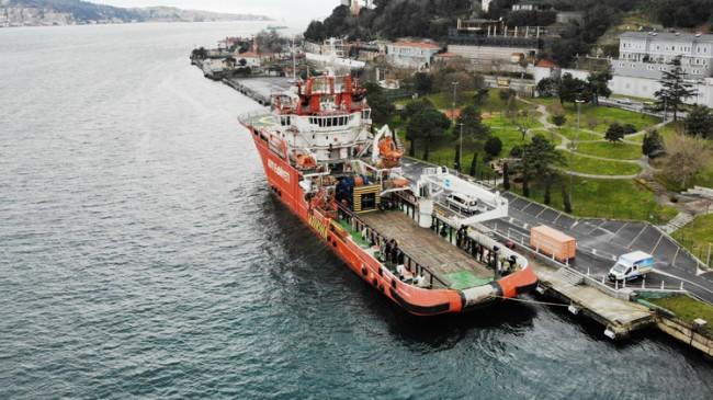 """Türkiye'nin ilk acil müdahale gemisi """"Nene Hatun"""" göreve hazır"""