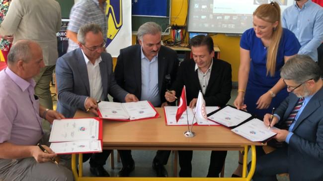 Tuzla Belediyesi ile Bosna-Hersek arasında gönül köprüsü kuruldu