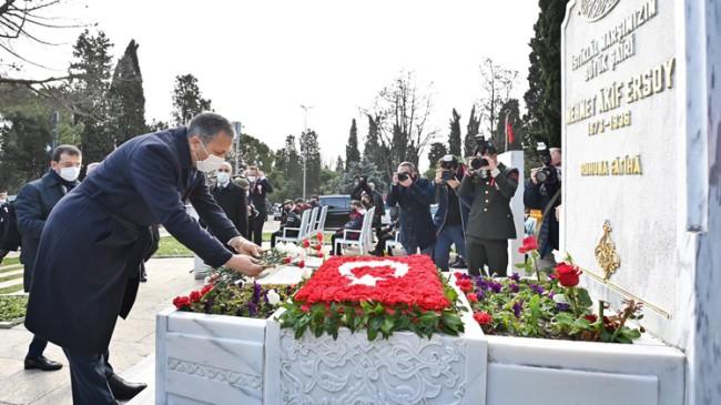 """Vali Yerlikaya: """"İstiklal Marşı, bir şiir değildir; ön sözümüz, son sözümüzdür"""""""