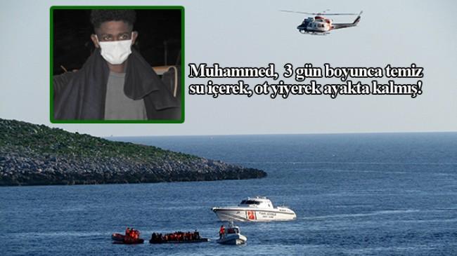 Yunan gavuru tarafından denize atılan Muhammed Seyyid, günler sonra bulundu