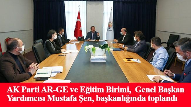 AK Parti AR-GE ve Eğitim Birimi, yol haritasını belirlemeye başladı