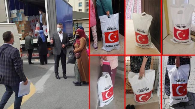 AK Parti Esenyurt, ihtiyaç sahibi komşularına merhamet elini uzatıyor