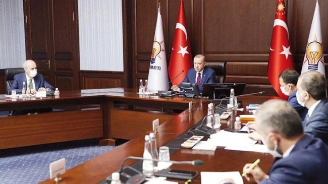 AK Parti MYK, bildiri gündemiyle Erdoğan Başkanlığında toplanıyor
