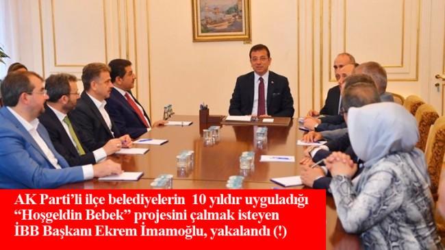 AK Parti'li belediye başkanları, Ekrem İmamoğlu'nu ti'ye aldı (!)