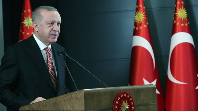 """Erdoğan, """"Ülkemizin batısında ne varsa doğusunda da o olsun diye koşturuyoruz"""""""