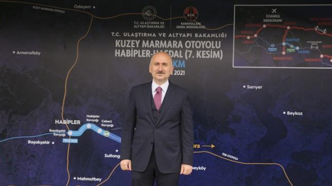 Bakan Adil Karaismailoğlu, Kanal İstanbul projesini başlatacaklarını söyledi