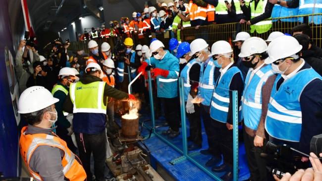 Bakan Karaismailoğlu, Sabiha Gökçen Havalimanı Metro Hattına ilk kaynağı attı