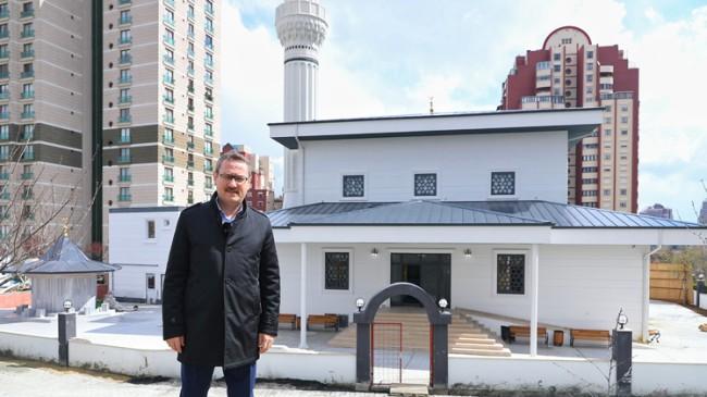 Başakşehirliler bir camiye daha kavuşuyor