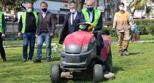 """Başkan Aydıner, """"Daha güzel, daha temiz ve daha yeşil bir Bayrampaşa için"""""""