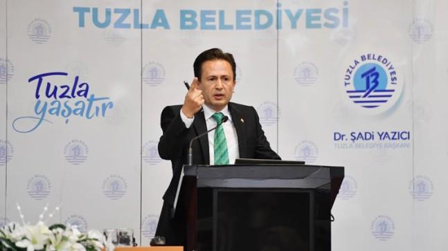 Başkan Şadi Yazıcı, İBB'yi 9 üzerinden 2.5 not vererek sınıfta bıraktı!