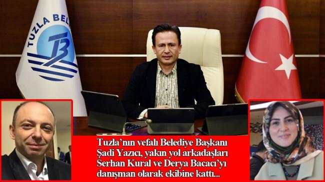 Başkan Şadi Yazıcı'dan Serhan Kural ile Derya Bacacı'ya vefalı davranış