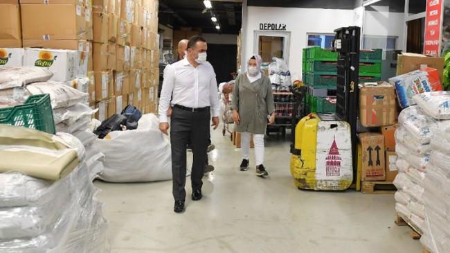 Beyoğlu Belediyesi, ihtiyaç sahibi aileler için seferber oldu