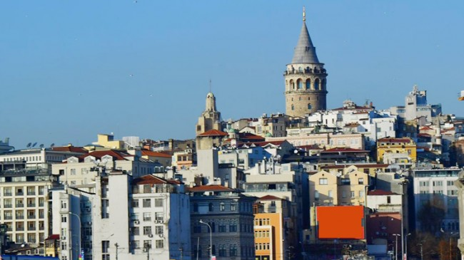 Beyoğlu'nda binalara kimlik kartı