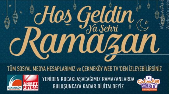 Çekmeköy'de dijital ortamda Ramazan etkinlikleri başladı