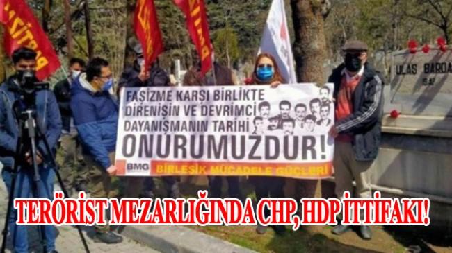 CHP ile HHP, teröristin mezarlığında da ittifak yaptılar