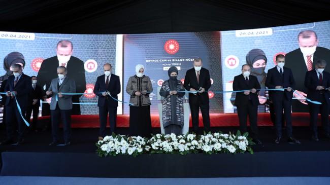 Cumhurbaşkanı Erdoğan, Beykoz Cam ve Billur Müzesi'nin açılışını yaptı