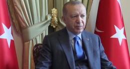 """Cumhurbaşkanı Erdoğan, """"Pençe-Şimşek ve Pençe-Yıldırım Operasyonu"""" Komuta Merkezi'ne bağlandı"""