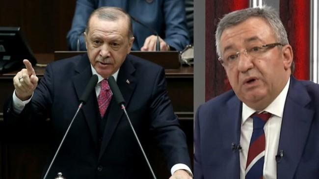 """Erdoğan, """"Be ahlaksız be edepsiz, biz bu yola çıkarken kefenimizi giyerek çıktık"""""""