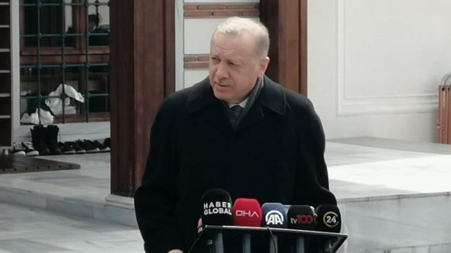 """Cumhurbaşkanı Erdoğan, """"Dışişleri Bakanımız, Dendias'ın davranışları karşısında ona haddini bildirdi"""""""