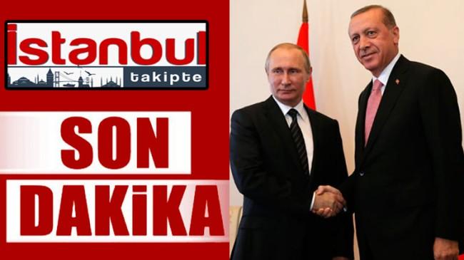 Erdoğan Putin arasında önemli görüşme