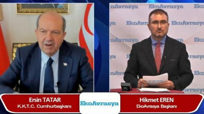 """Ersin Tatar, """"Türkiye'nin verdiği destekle, Cenevre'ye elimiz daha güçlü gideceğiz"""""""