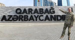 Azerbaycan Cumhurbaşkanı İlham Aliyev, 'Askeri Ganimet Parkı'nın açılışını yaptı