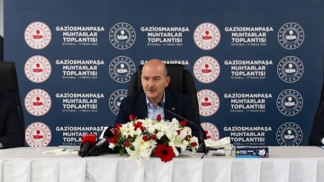 """İçişleri Bakanı Soylu, """"İstanbul'da 5 bin 599 toplanma alanımız var"""""""