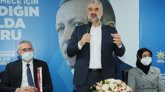 """İstanbul İl Başkanı Kabaktepe: """"İBB 'engelleniyoruz' diye kameralara oynuyor"""""""