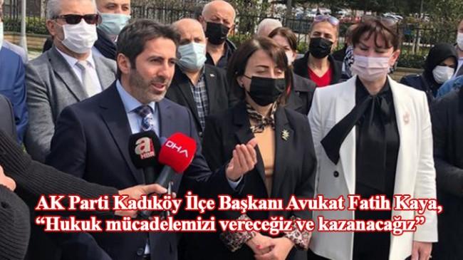 Kadıköy CHP Meclis Grubu ile Belediye Başkanı Odabaşı'ndan faşizan tavır!