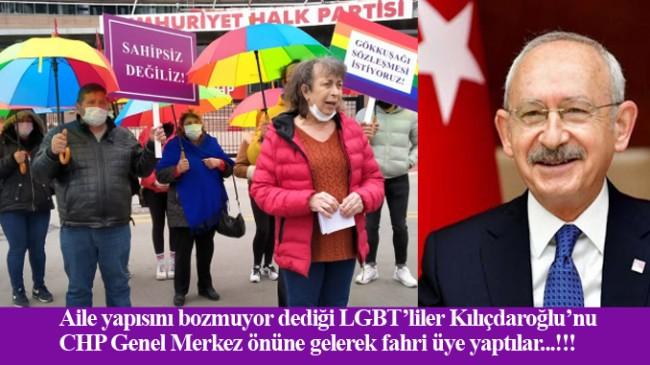 Kılıçdaroğlu artık LGBT'nin fahri üyesi