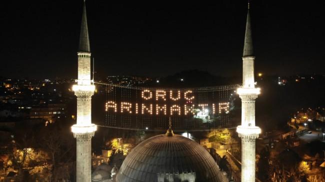 Mahyalardan Ramazan mesajları
