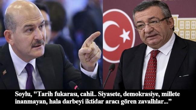 """İçişleri Bakanı Süleyman Soylu, Vallahi sizi, 15 Temmuz'dan beter yaparız…"""""""