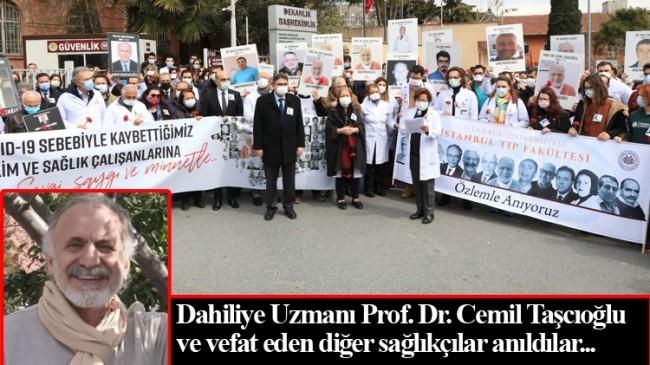 Merhum Cemil Taşçıoğlu, vefatının birinci yıl dönümünde anıldı